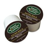 Green Mountain Coffee Roasters Kona 10% Blend Extra Bold K-Cup Coffee - Flavored - 4 K-Cup Per Case