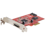 StarTech.com 1 Port eSATA + 1 Port SATA II PCI Express SATA Controller Card