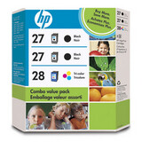 HP No. 27/28 Combo Pack Ink Cartridge