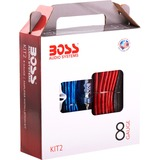 Boss 8 Gauge Amplifier Installation Kit - KIT2