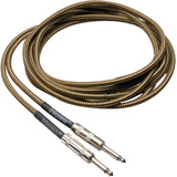 Hosa Technology Tweed Guitar Cable, Straight to Same, 18 ft
