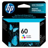 HP 60 Tri-Color Ink Cartridge CC643WC#140