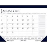 HOD164 - House of Doolittle Blue/Gray Print Monthly...