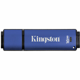 Kingston 16GB DataTraveler Vault Privacy Edition USB 2.0 Flash Drive