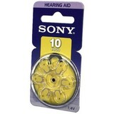 Sony PR10-D6A Zinc Air Hearing Aid Battery