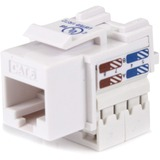 StarTech.com Cat6 RJ45 Keystone Jack White - 110 Type C6KEY110WH