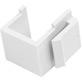 StarTech.com Universal Wall Plate Blank Insert White INSERTBLANKW