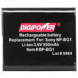Mizco Digipower BP-BG1 Lithium Ion Digital Camera Battery