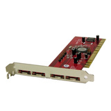 WiebeTech TC-PCI-4S 4-Port Serial ATA PCI-X Controller