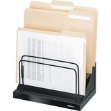 Fellowes Designer Suites Step File - 6 Compartment(s) - Black