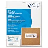 Elite Image Block-out Mailing Laser/Inkjet Label