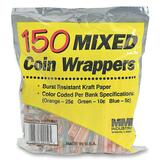 MMF Flat Coin Wrapper - Orange, Blue, Red, Green