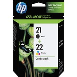 HP No. 21/22 Combo Pack Black/Color Ink Cartridge