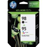 CB327FN - HP 98 Black/95 Tri-color 2-pack Original Ink Cartridges