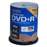 Aleratec DVD Recordable Media - DVD+R - 16x - 4.70 GB - 600 Pack Spindle