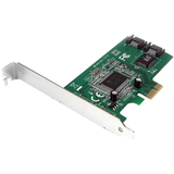 StarTech.com 2 Port PCI Express Internal SATA II Controller Card PEXSATA22I