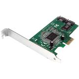 StarTech.com 2 Port PCI Express Internal SATA II Controller Card PEXSATA22I