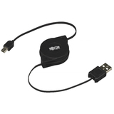 Tripp Lite Retractable USB Cable