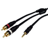 Cables Unlimited 6ft Pro A/V Series 6ft 3.5mm to RCA Stereo Audio Cable