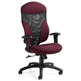 1950-4 - Global Tye 1950-4 High Back Executive Chair