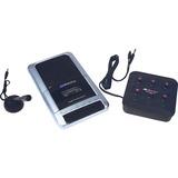 AmpliVox SL1039 Cassette Recorder 8 Station Listening Center