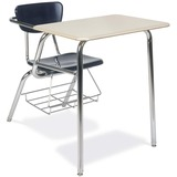 Virco Martest 3000 Series 3400BR Student Desk - Rectangle - 1 Rack - 29.5