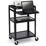 Bretford A2642NS-M4 Adjustable Height Presentation Cart
