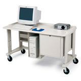 Bretford UCS925-GM Mobile Multimedia Workstation
