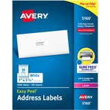 Avery Mailing Label 05160 Easy Peel 05160