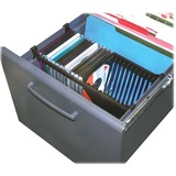 Stor-It Media File CD Rack, Holds 24 Slim/Std. Cases  MPN:10300
