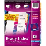 Avery Ready Index Table of Contents Dividers