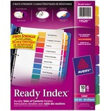 Avery Ready Index Unprinted Tab 11520