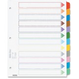 Esselte Color Coded Index Divider 24120