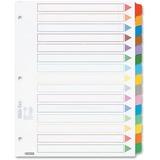 Esselte Color Coded Index Divider 24150