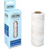Crownhill Multi-Use Twine - Cotton, Polypropylene - 328 ft Length - White