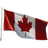 Baumgartens Canadian Flags - Canada - Stitched - Nylon