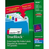 Avery Extra Large Filing Label 35026