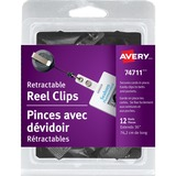Avery Clip-on Retractable ID Reel 74711