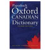 Oxford University Press Paperback Oxford Canadian Dictionary Second Edition Education Dictionary - English 0195424395