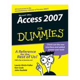 Wiley Access 2007 For Dummies Software Manual 0470046120
