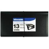 Winnable 13-Pocket Expanding File 200-12-BK