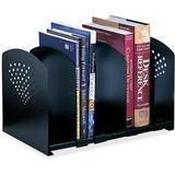 Safco 5 Section Adjustable Book Rack 3116BL