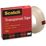 3M Scotch Glossy Transparent Tape 600S-12M33