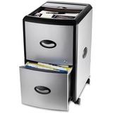 Storex Metal Clad File Cabinet