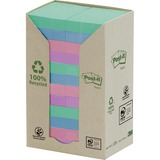 Post-it Pastel Rainbow Recycled Notes