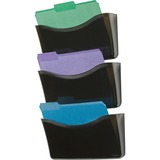 Rubbermaid Triple Pockets Decker Wall File - 65974ROS