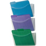 Rubbermaid Triple Pockets Decker Wall File