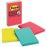 Post-it Super Sticky Lined Notes
