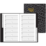 At-A-Glance Medium Designer Telephone/Address Book 80402F-00