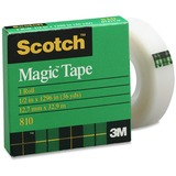 3M Scotch Magic Transparent Tape 810S-12M33